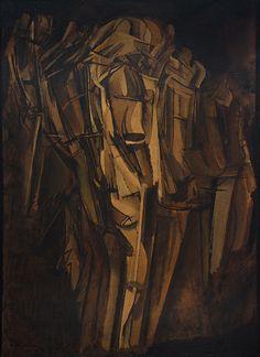 Marcel Duchamp    Nude (Study), Sad Young Man on a Train (Nu [esquisse], jeune homme triste dans un train)