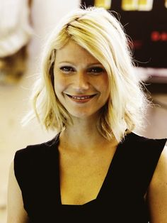 Lovely haircut. Always love the simplicity, elegance and rawness Gwyneth pulls off.
