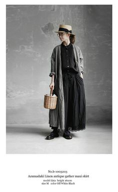 BerryStyle: Joie de Vivre French linen herringbone over die apron dress Mori Fashion, Modest Fashion, Fashion Outfits, Womens Fashion, Moda Natural, Natural Clothing, Ethical Clothing, Japanese Fashion, Dandy