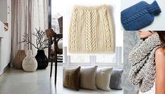 DIY Upcycling Ideen rund um Strick Pullover                              …