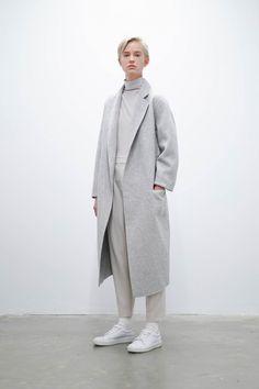 oak and fort long coat