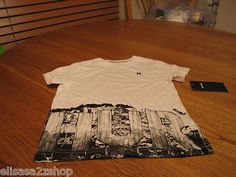 Boy's youth toddler 4 T white t shirt NEW NWT surf skate 14544229-10 Hurley 4T