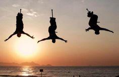 Esto no es levantarse, es saltar de la cama!! ;) #gopro #backflip #jumping