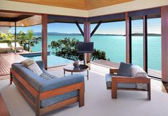 A room with a view of... the Whitsundays-