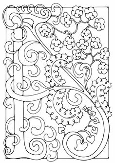 coloring page letter a