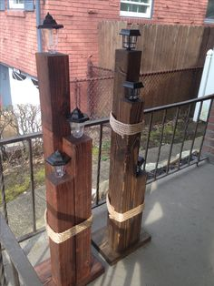 Lamp Posts By John Wade Crafts John Lamp posts solar light crafts diy projects Wade