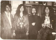 1970 Jimmy Page & Robert Plant and friends