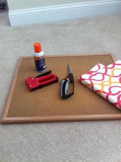 Pin it Up - {DIY Bulletin Board Tutorial}