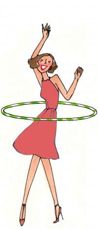 Cours de hula-hoop Lyon