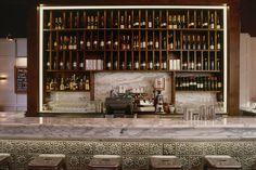 Bar at the Cambridge restaurant by Maritn Brudnizki Design Studio   Jamie's Italian