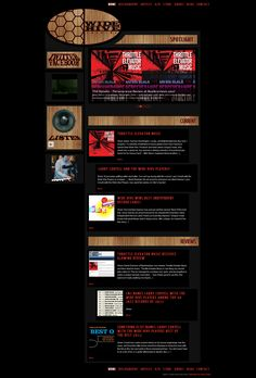 We designed this website for a jazz record label.
