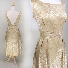 1950s // Amber Waves Cocktail Dress // Low by VINTAGELOVEbyGIGI, $158.00