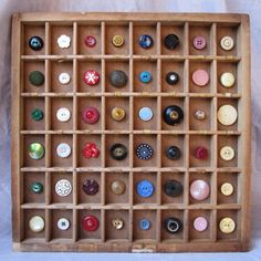 MelodyNunez | vintage button collection
