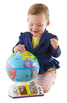 Fisher-Price Laugh & Learn Greetings Globe in Baby, Toys for Baby, Developmental Baby Toys Best Toddler Gifts, Best Toddler Toys, Sing Along Songs, Fun Songs, Toddler Learning, Learning Toys, Fisher Price Toys, Play To Learn, Educational Toys