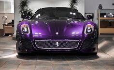 Purple Ferrari ...