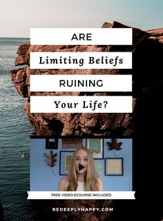 Could your own limiting beliefs about yourself be getting in the way of your success? Click through to learn about limiting beliefs and how to eliminate them to improve your mental health. #limitingbeliefs #mentalhealth #personaldevelopment #personalgrowth #selfdiscovery