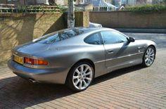 2003 Aston Martin DB7 5.9 V12 Vantage coupe. Tungsten Silver Metallic. FSH. Click on pic shown for loads more.