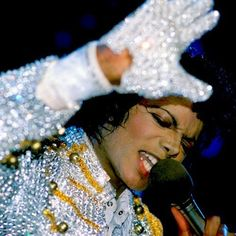 Musicians of the 70`s and 80`s like Micheal Jackson helped make sparkles and gold become famous