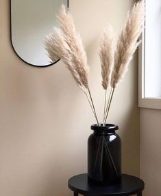 Our tinted glass vase and pampas grass are one stylish combo! Thank you for the ... - #Combo #Glass #grass #Pampas #Stylish #Tinted #Vase