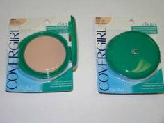 Every girl I hung out with had one of these Covergirl compacts in her back pocket.