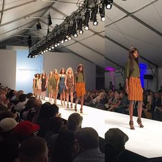 What an incredible week for #PortlandFashion ‼️ Portland based designer @myriammarcela showcased a beautiful collection of ready-to-wear earth-toned garments, with graceful pops of mixed patterns at Thursday night's @fashionxtonline Fashion Show. #FashioNXT #ModifiedStylePortland #SupportLocalDesigners #RunwayShow #WeLovePortlandFashion