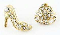 Mini Heel N Bag Stud Earrings