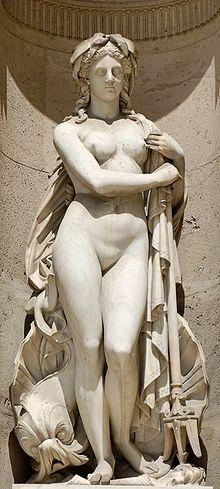En la mitología griega, Anfítrite  era una antigua diosa del mar tranquilo, que se convertiría en consorte de Poseidón.
