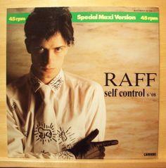 "RAFF - Self Control - mint minus - Vinyl 12"" Maxi - Italo Disco - Top RARE"