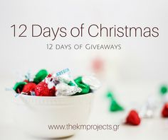 12 Days of giveaways - The KM Projects