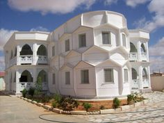 Somali Architecture | A villa in Garowe, Somalia.