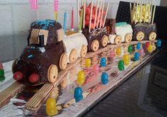 Le gâteau TRAIN...