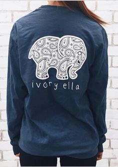 Long Sleeve T-shirt Printed Elephant 100% Knitted Cotton. Yours is here: https://ecolo-luca.com/collections/clothing/products/long-sleeve-t-shirt-printed-elephant-100-knitted-cotton