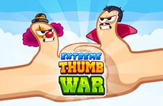 Extreme Thumb War - Freelance HTML5 Game