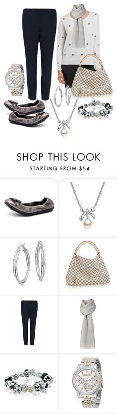 """""""Silver Hues"""" by barbara-ward-1 on Polyvore featuring Django & Juliette, MBLife.com, Blue Nile, Ted Baker, Calvin Klein and Bling Jewelry"""