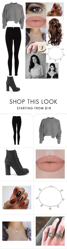 """""""Untitled #87"""" by juliabrown833 ❤ liked on Polyvore featuring Lipsy, Steve Madden, Giani Bernini, Chloe + Isabel and Free People"""