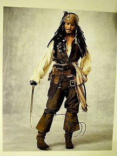 Johnny Depp Autographed Signed 11X14 Photo COA Pirates Caribbean Jack Sparrow