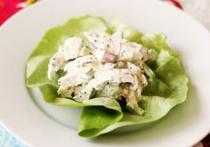 Chicken Salad Lettuce Wraps and other low glycemic recipes