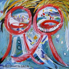 Danish artist Jørgen Nash (1920-2004) - enamel on steel