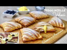 Fancy Desserts, Italian Desserts, Great Desserts, Healthy Desserts, Dessert Recipes, Best Italian Recipes, My Recipes, Sfogliatelle Recipe, Dessert Pasta