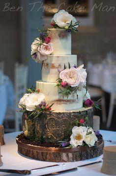 En su día de boda pastel diseño hermoso brillante cascada moderno Tarjeta de felicitación