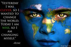 """""""The people who are crazy enough to think they can change the world, are the ones who do"""" Steve Jobs Happy 2015 Feliz Año Nuevo 2015 Eckhart Tolle, Hot Body Paint, Tiny Buddha, Need Love, Mahatma Gandhi, Self Publishing, Change The World, Mother Earth, Wake Up"""