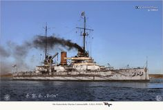 SMS Posen one of the German Dreadnoughts that my grandfather faced during the Battle of Jutland 1916.