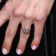 Brides: Our Favorite Celebrity Engagement Rings | Wedding Dresses %26 Style | Brides.com~ Alesis' Biedel's
