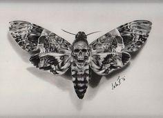 Death Moth! Charcoal drawing by artist @leila_blackcatink #pencilart #pencildrawing #charcoal #drawing #worldofpencils #staytruetotheart @staytruetotheart .