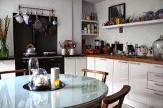 Una preciosa cocina, con todos los detalles a la vista