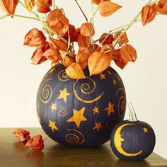 Pumpkin Decorating Without Carving