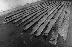 Installed Castelli Warehouse Richard Serra, Casting, 1969.