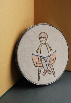 Embroidery Patterns BOOKSMART Hand Embroidery by SeptemberHouse