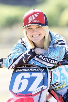 Ashley Fiolek one of the best in women's MX