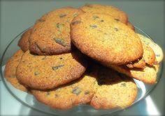 Pullantuoksuinen koti: Isot Banaani-Suklaa keksit